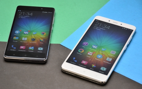 Сравнение Xiaomi Redmi Note 4 и Redmi 4 Prime